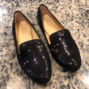 Cole Haan Sequins Leather Loafers Nike Technology